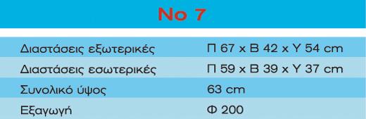 Τζάκι No 7