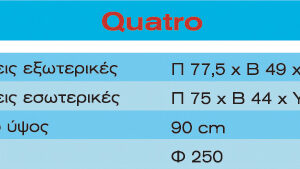 Τζάκι Quatro