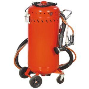 Αμμοβολή βαρέλι με vacuum JBM100