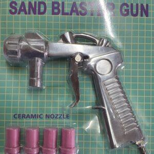 Ανταλλακτικό πιστόλι αμμοβολής πλακέ με σκανδάλη