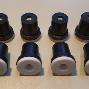 Μπέκ σετ 4 τεμαχίων μαύρα (Φ2/2,5/3/3,5) πιστόλι βαρέλι SB20