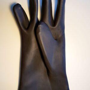 Γάντια αμμοβολής καμπίνας λαστιχένια Φ20Χ80